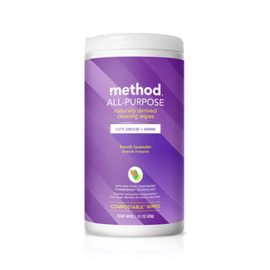 Method All Purpose Cleaning Wipes - French Lavender 70s
