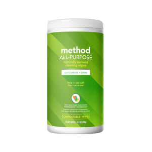 Method All Purpose Cleaning Wipes - Lime + Sea Salt 70s