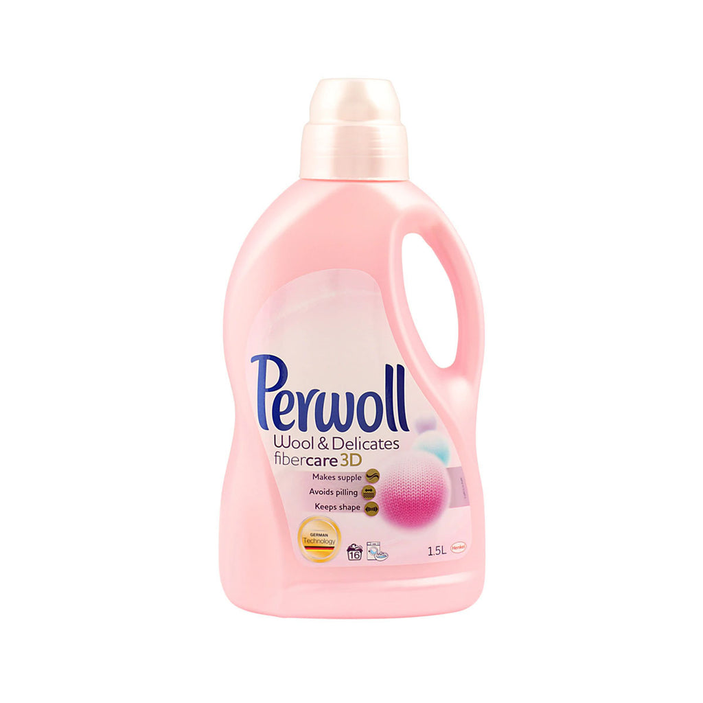 Perwoll Wool and Delicates Laundry Detergent (1.5L)