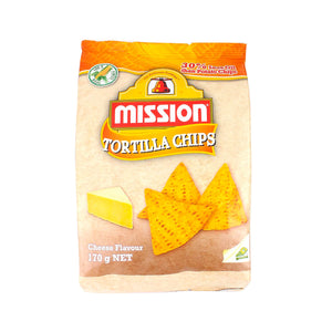 Mission Triangle Yellow Cheese Chips (170g)