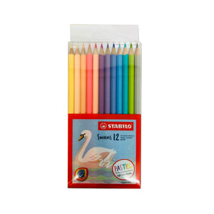 Stabilo Pastel Coloured Pencils - Set of 12