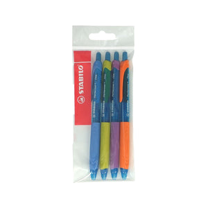 Stabilo Performer Value Pack of 4 #Blue