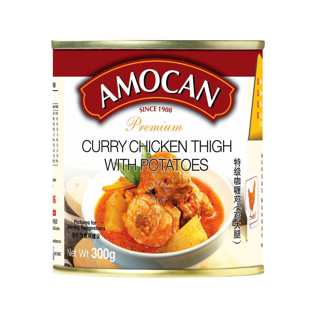 Amocan Premium Curry Chicken Thigh w/potatoes