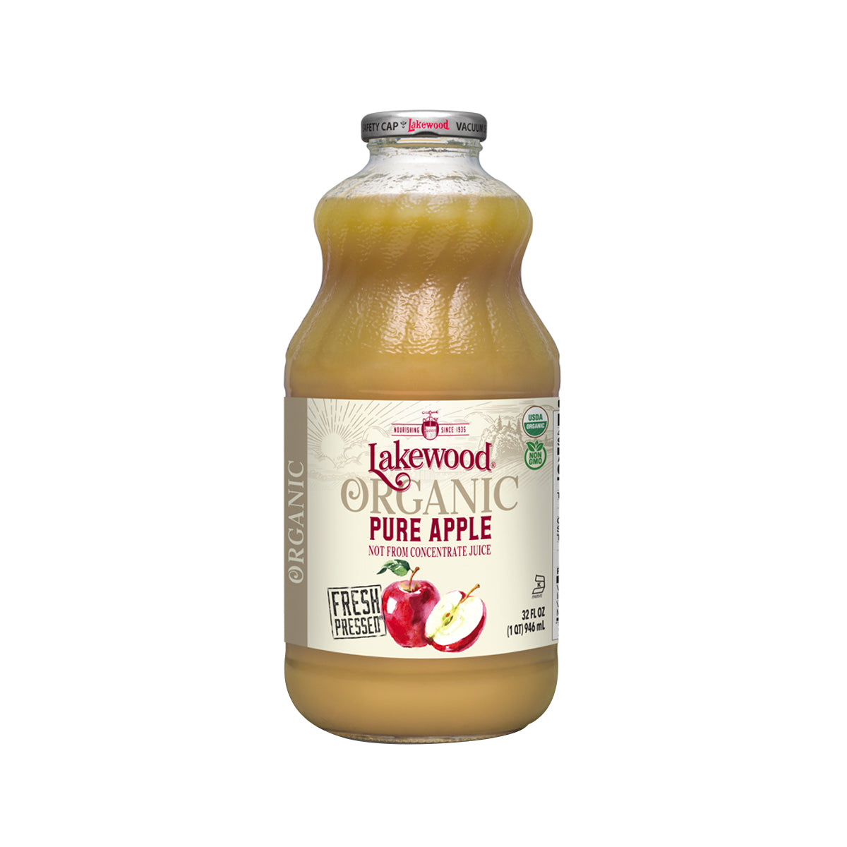 Lakewood Organic Pure Apple (946ml)