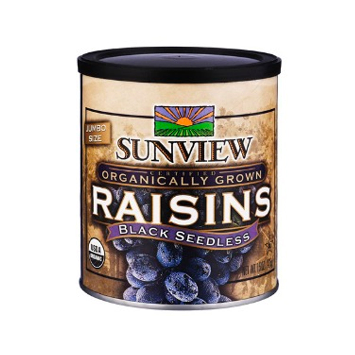 Sunview Black Raisins Tin (425g)