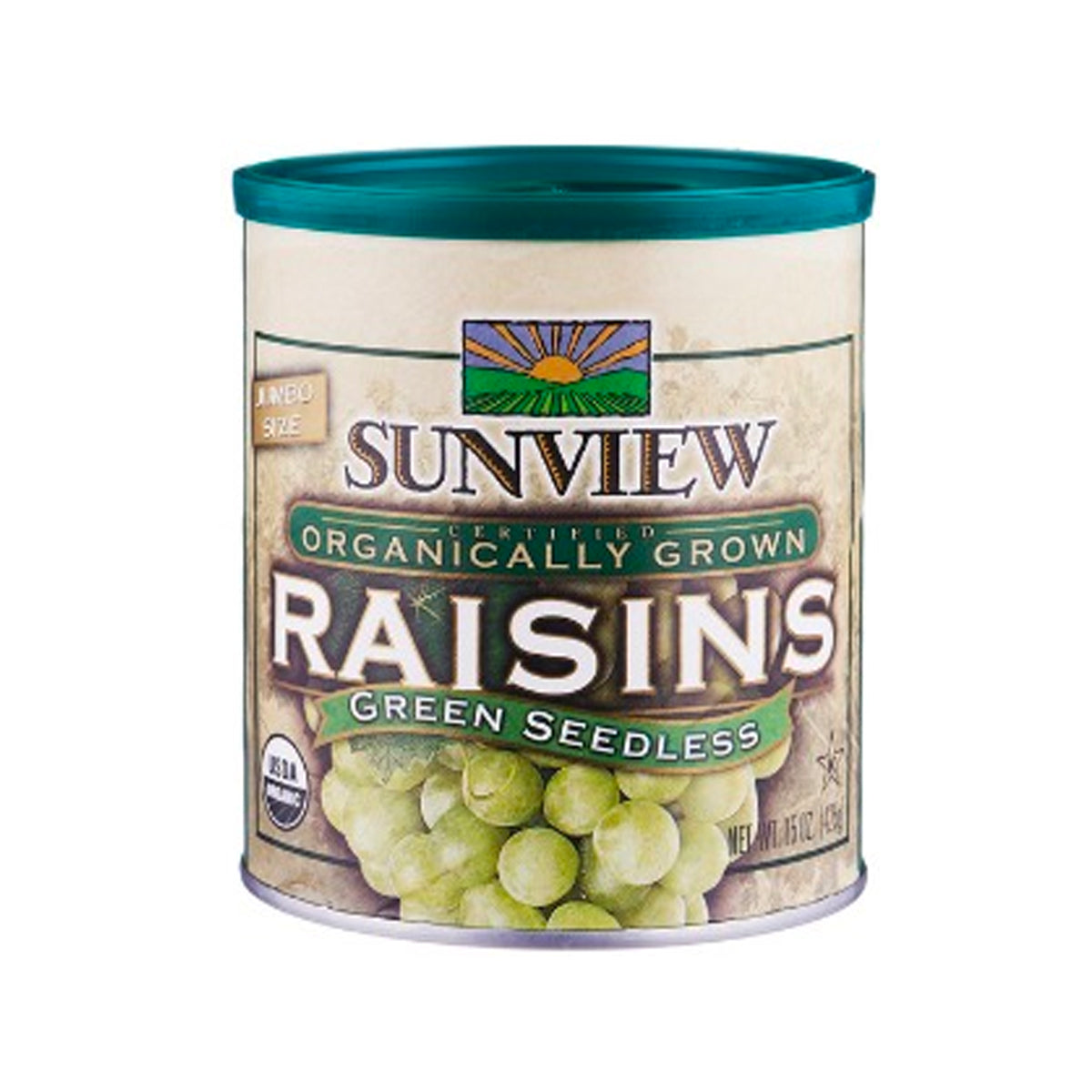 Sunview Green Raisins Tin (425g)