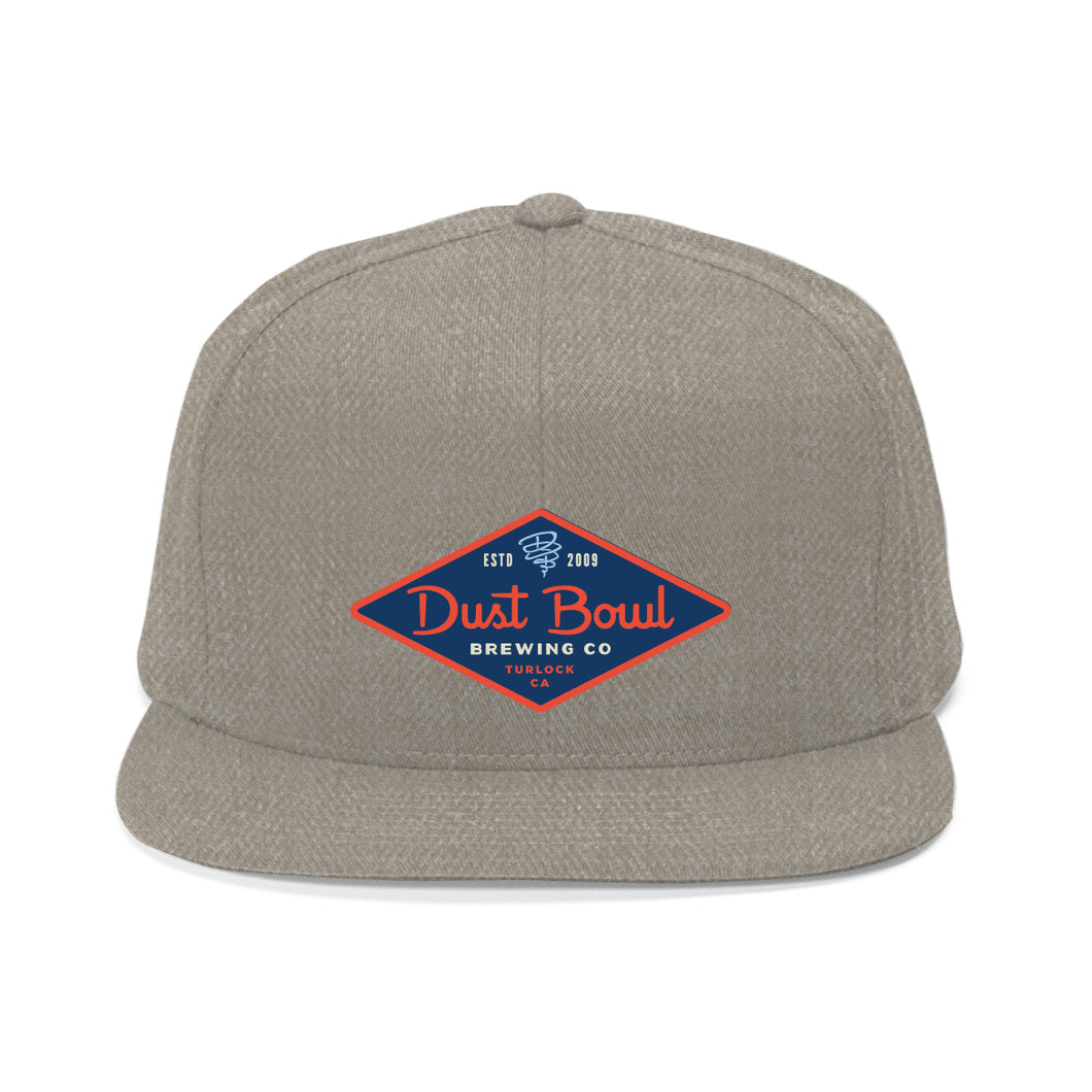Turlock Grey Diamond Hat