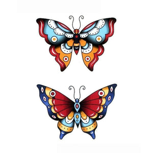 tatouage-papillon-old-school