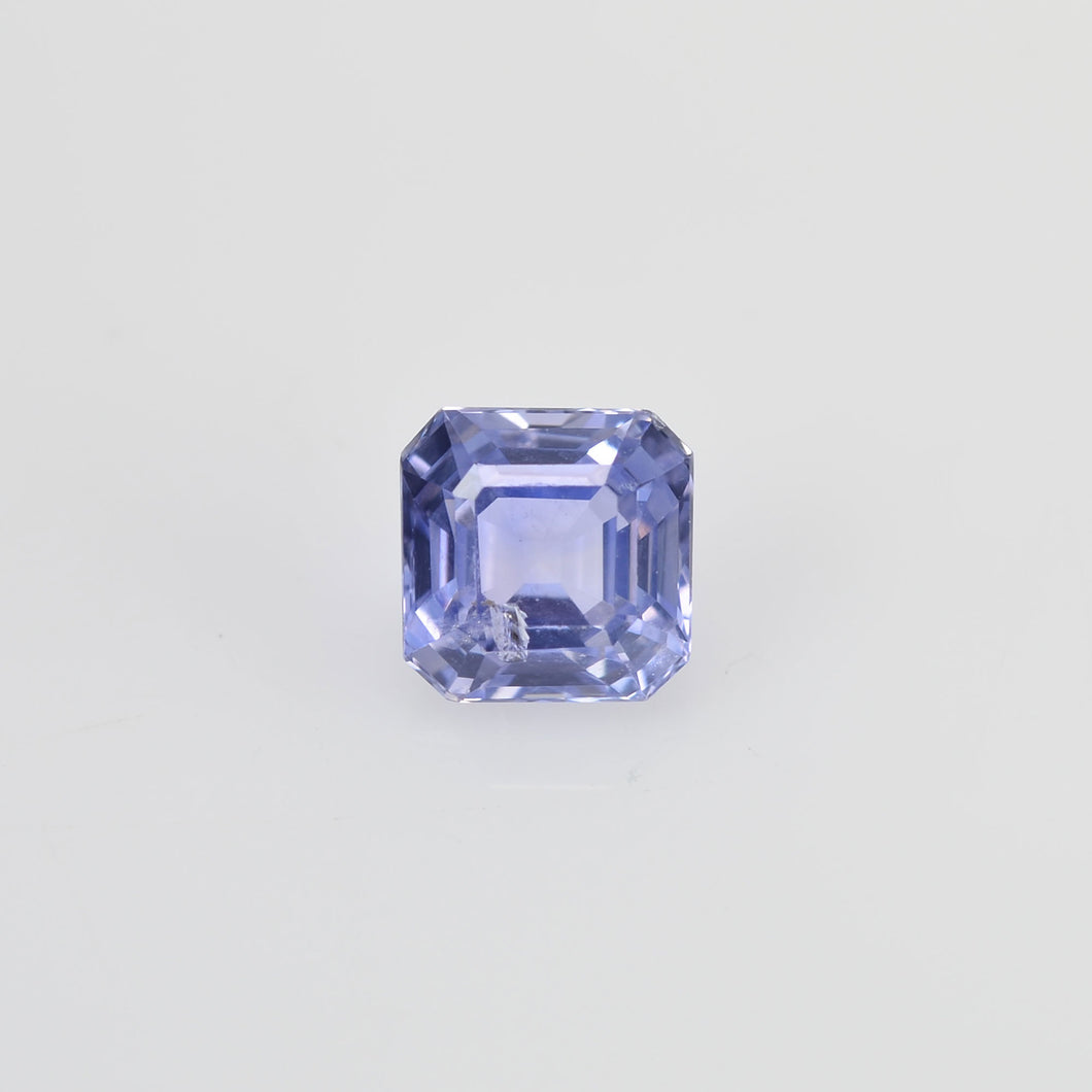 0.89 cts Unheated Natural Blue Sapphire Loose Gemstone Octagon Cut