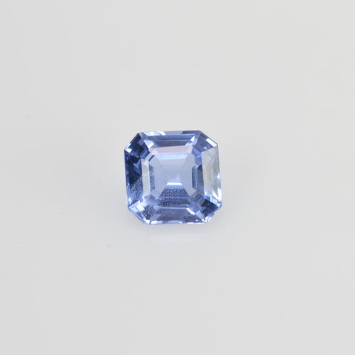 0.72 cts Unheated Natural Blue Sapphire Loose Gemstone Octagon Cut