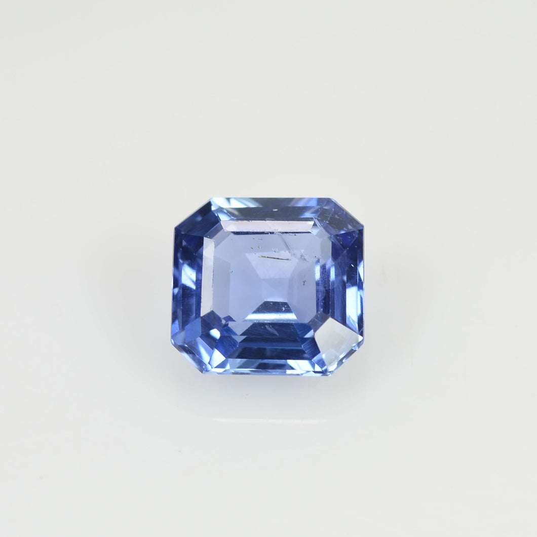 1.19 cts Unheated Natural Blue Sapphire Loose Gemstone Octagon Cut