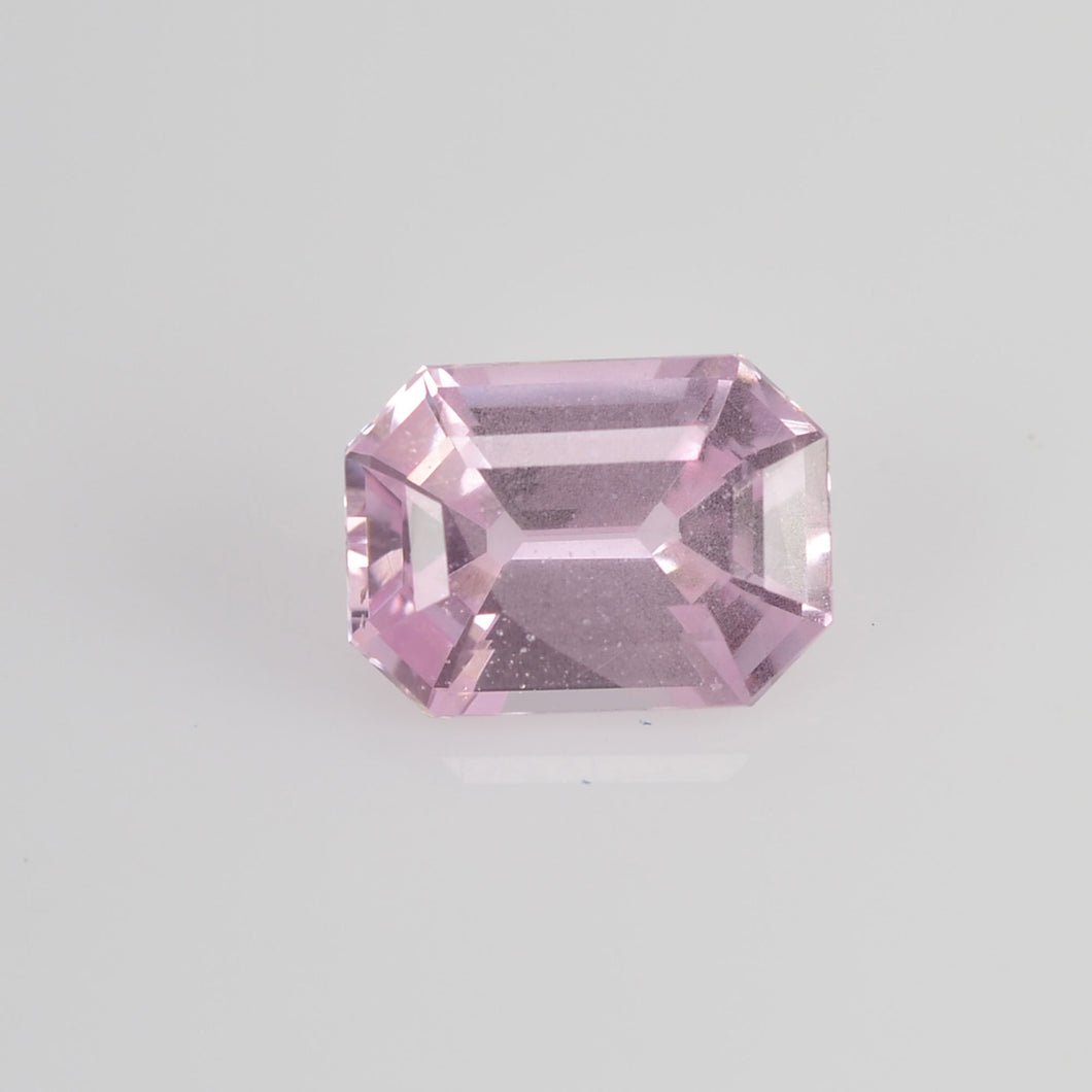 1.15 cts Natural Baby Pink Sapphire Loose Gemstone Octagon Cut
