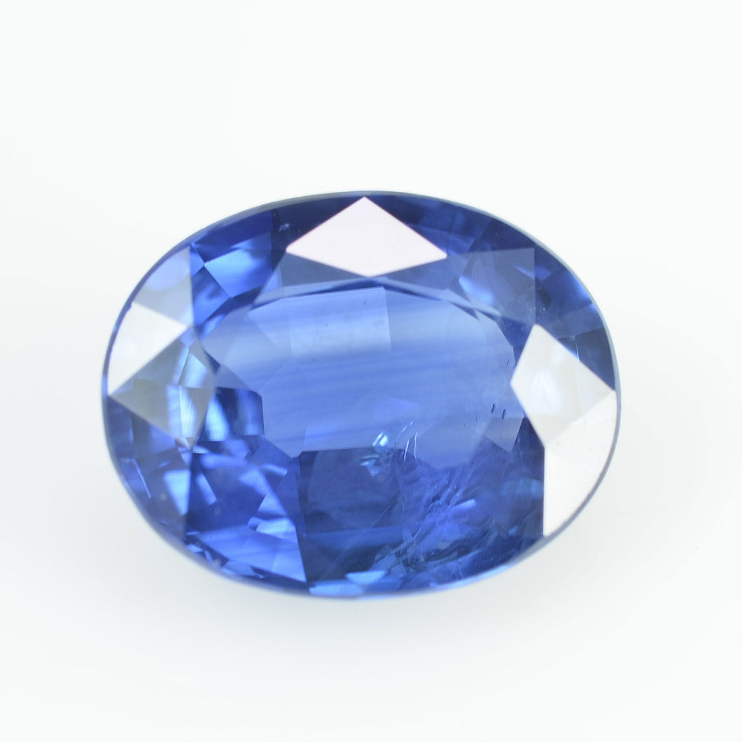 1.84 cts Natural Blue Sapphire Loose Gemstone Oval Cut