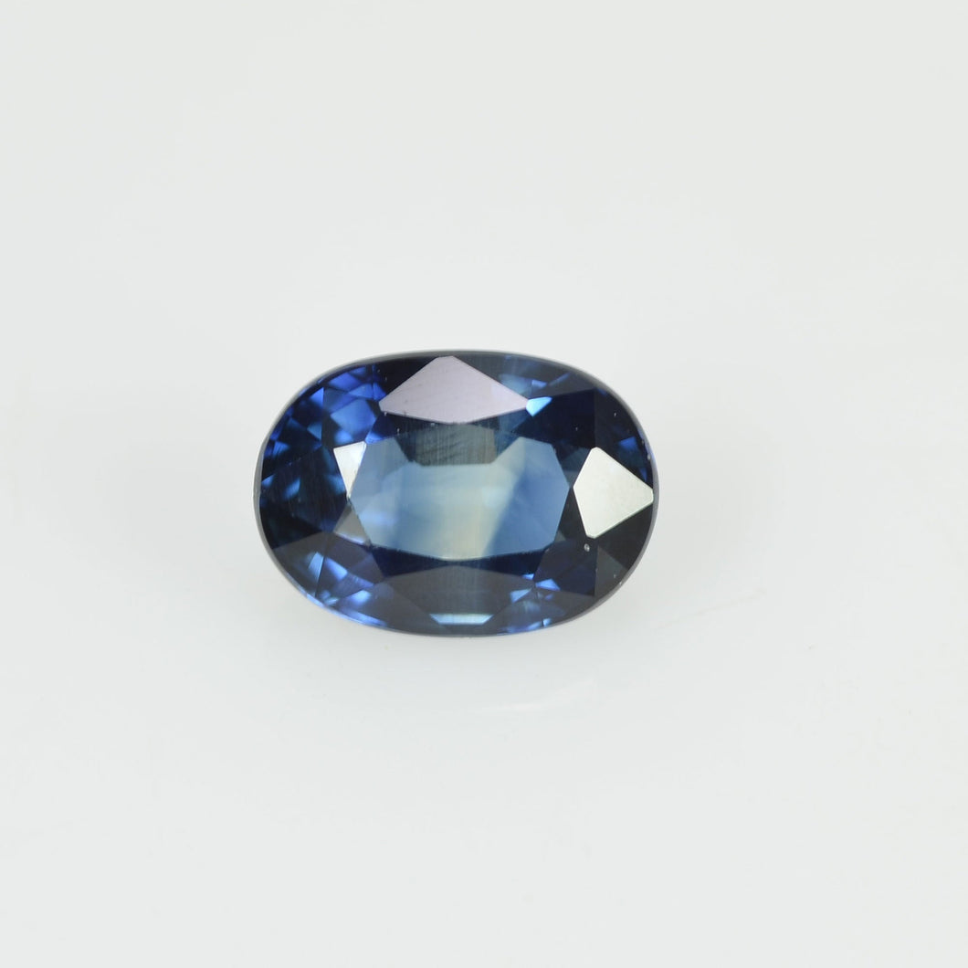 0.60 cts Natural Blue Sapphire Loose Gemstone Oval Cut