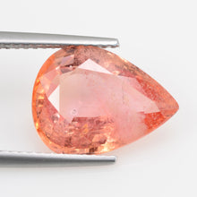 Load image into Gallery viewer, 5.98 cts Natural Orange Sapphire Loose Gemstone Oval Cut
