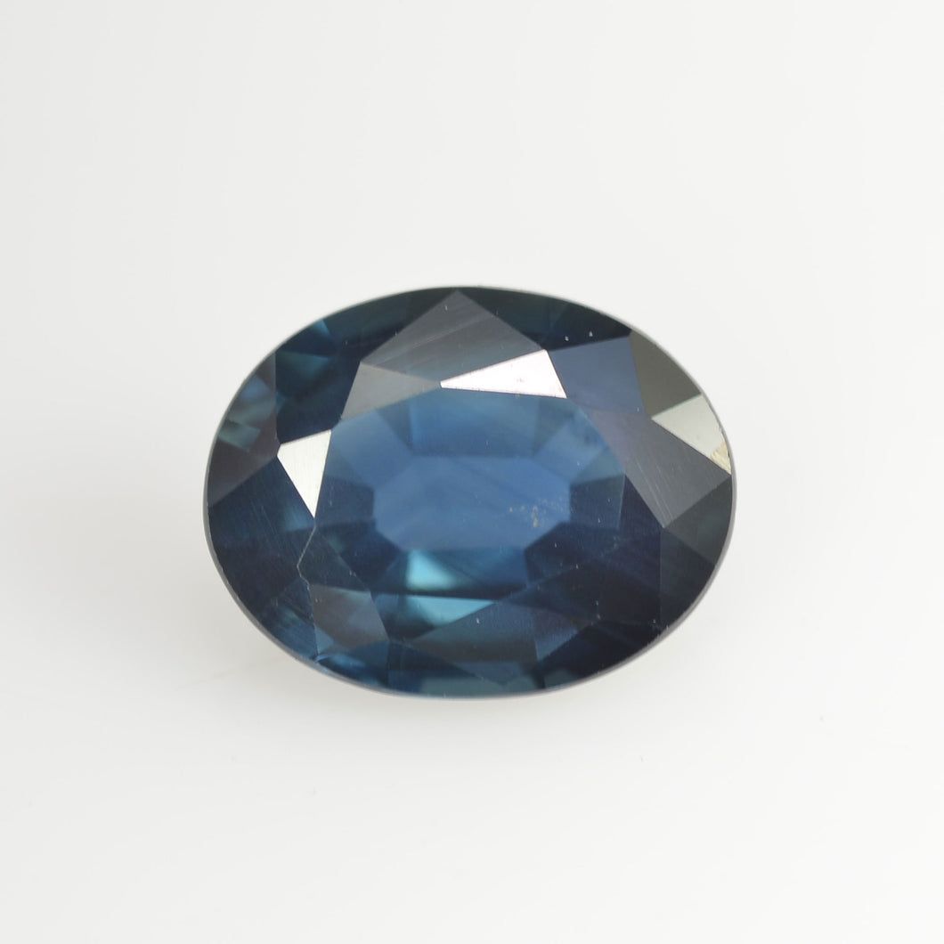 1.17 Cts Natural Blue Sapphire Loose Gemstone Oval Cut