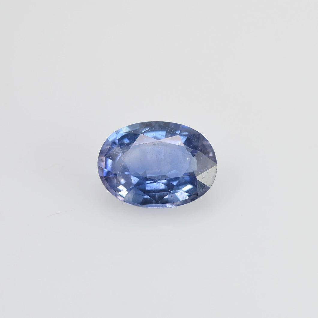 1.00 Cts Natural Blue Sapphire Loose Gemstone Oval Cut