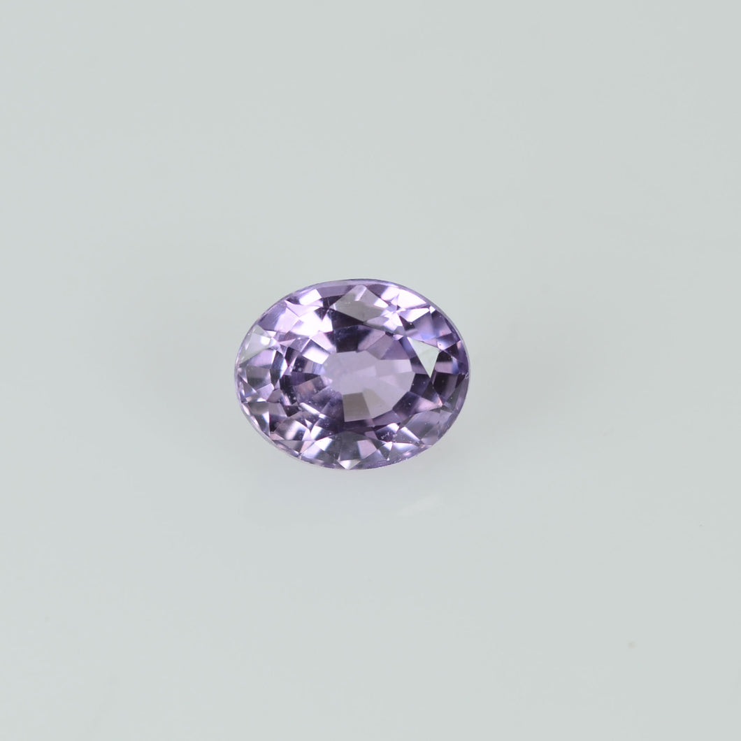 0.36 cts Natural Lavender Sapphire Loose Gemstone Oval Cut