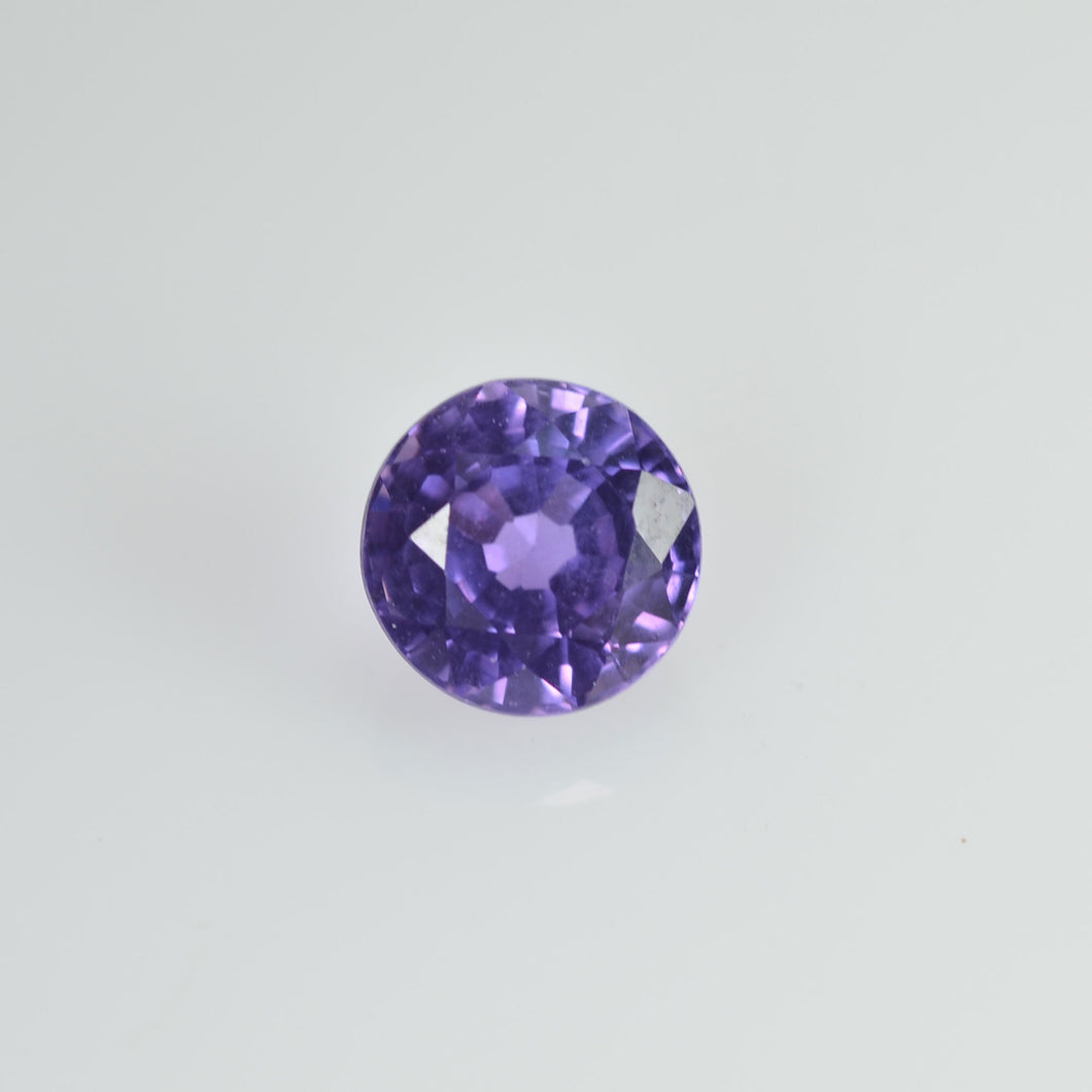 0.43 cts Natural Purple Sapphire Loose Gemstone Round Cut