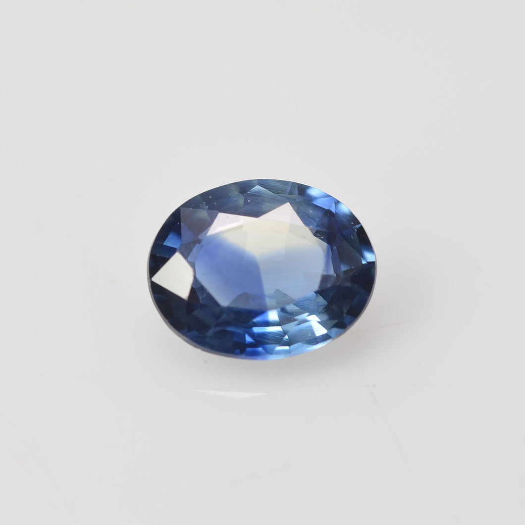 0.62 cts Natural Blue Green Teal Sapphire Loose Gemstone Oval Cut