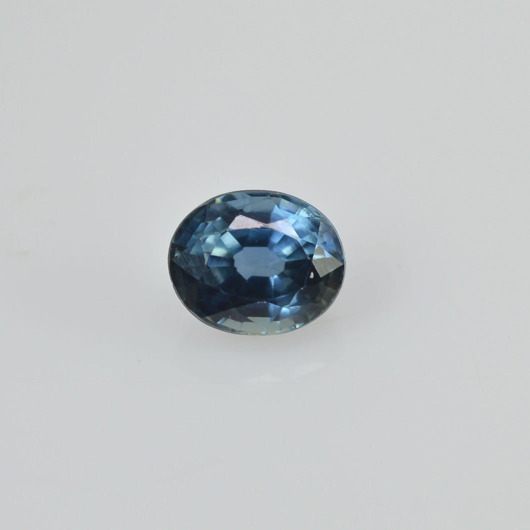 0.48 cts Natural Blue Green Teal Sapphire Loose Gemstone Oval Cut