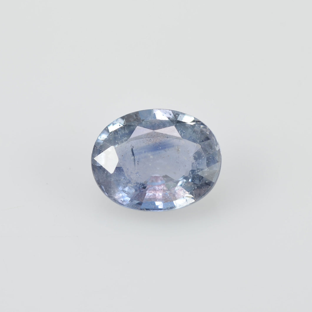 1.50 cts Natural Blue Teal Sapphire Loose Gemstone Oval Cut