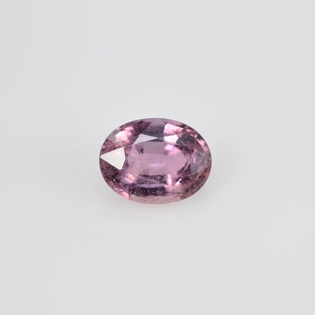 1.00 cts Natural Purple Sapphire Loose Gemstone Oval Cut