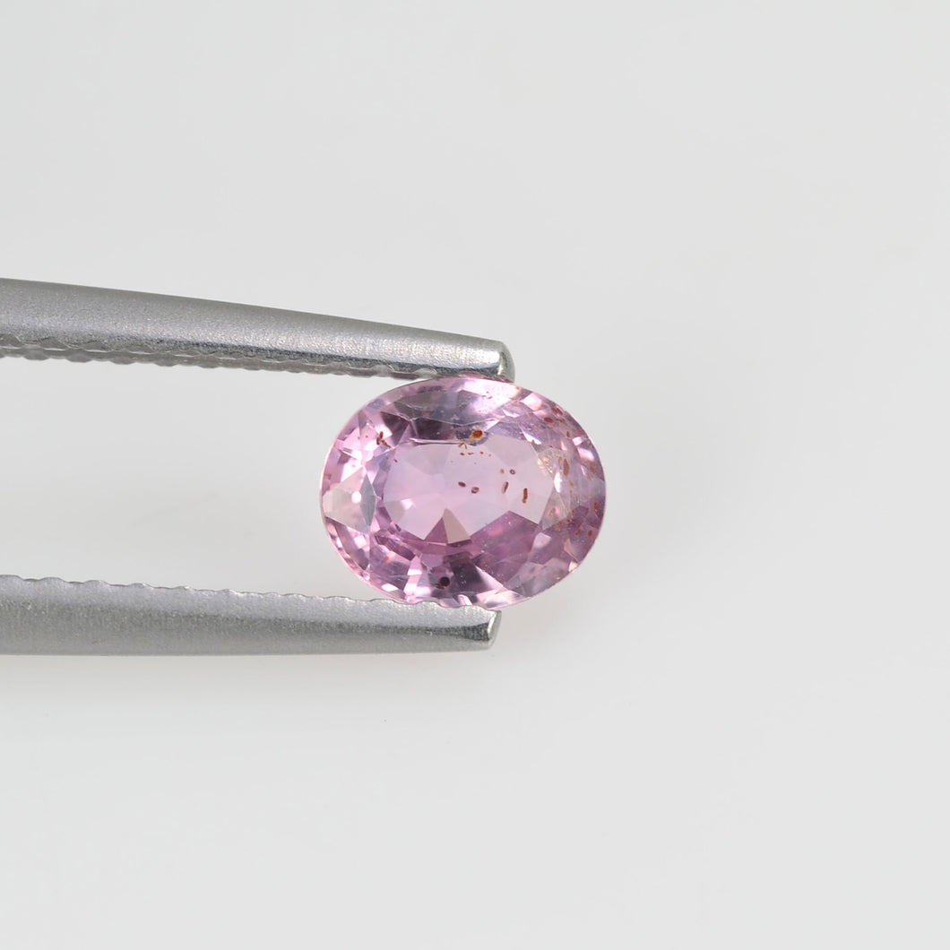 0.59 cts Natural Fancy Pink Sapphire Loose Gemstone oval Cut