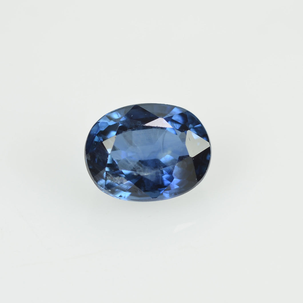 0.58 cts Natural Blue Sapphire Loose Gemstone Oval Cut