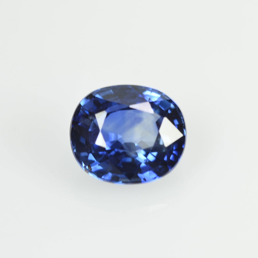 0.79 cts Natural Blue Sapphire Loose Gemstone Oval Cut
