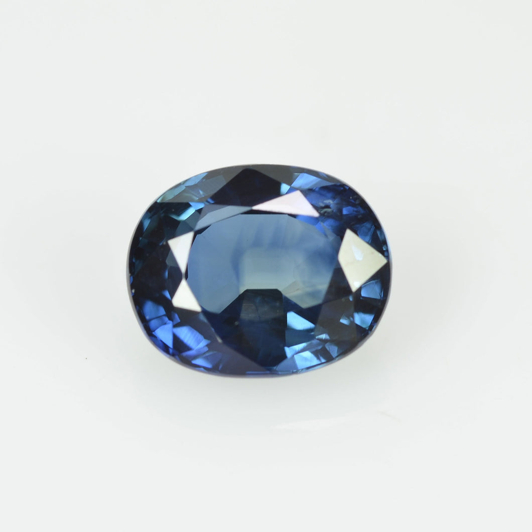 1.18 cts Natural Teal Blue Green Sapphire Loose Gemstone Oval Cut