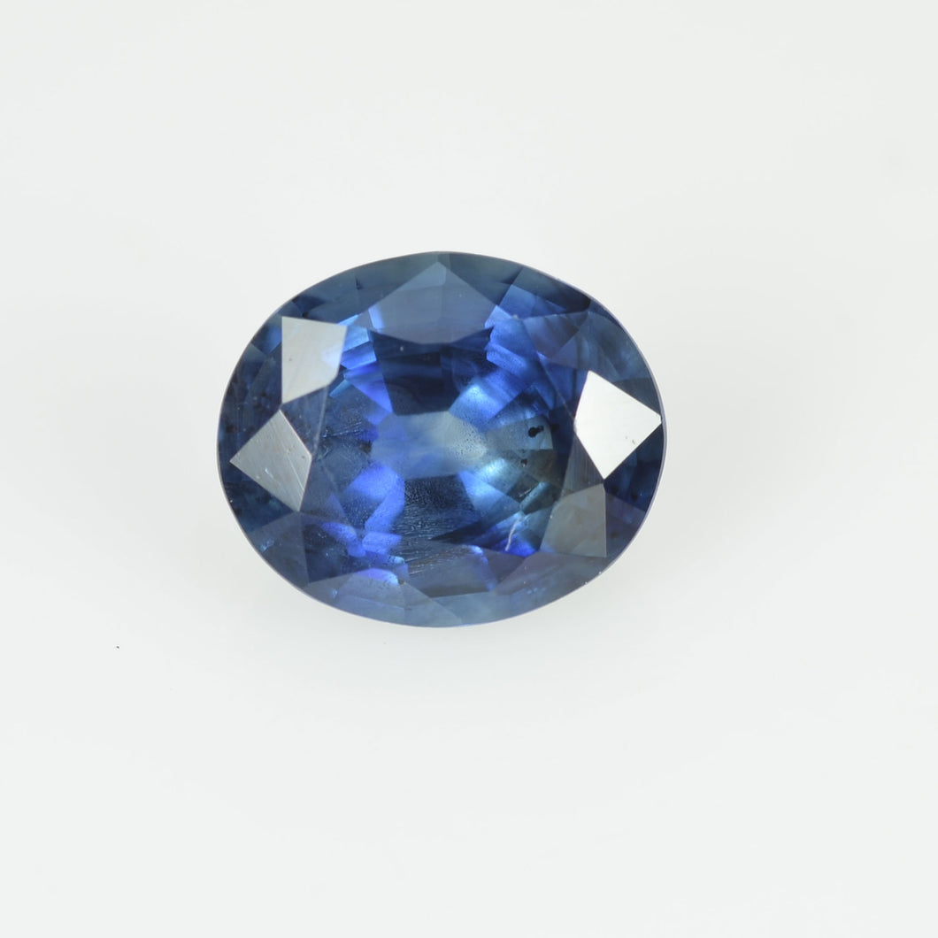 0.72 cts Natural Blue Sapphire Loose Gemstone Oval Cut