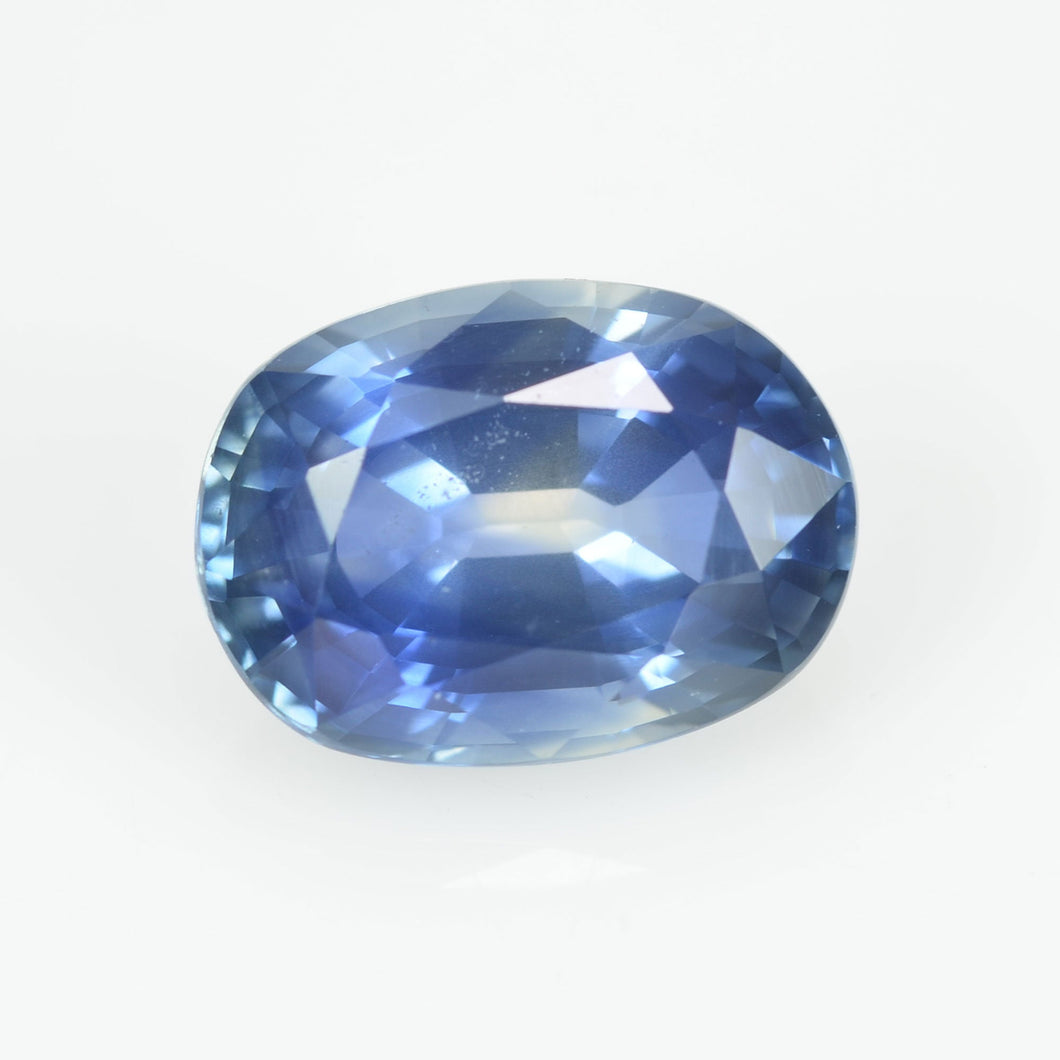 1.79 cts Natural Blue Sapphire Loose Gemstone Oval Cut