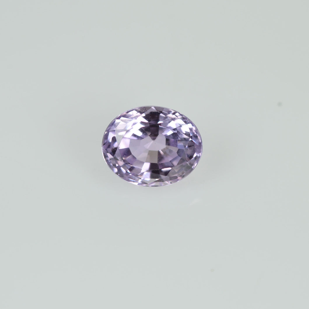 0.39 cts Natural Lavender Sapphire Loose Gemstone Oval Cut