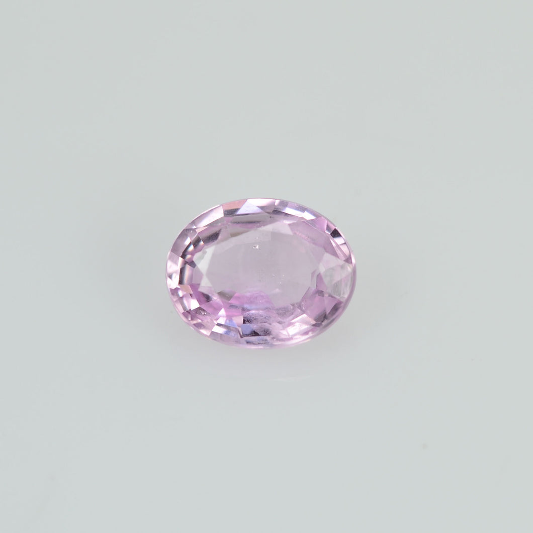0.39 cts Natural  Pink Sapphire Loose Gemstone oval Cut
