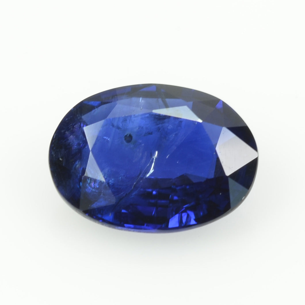 1.82 Cts Natural Blue Sapphire Loose Gemstone Oval Cut