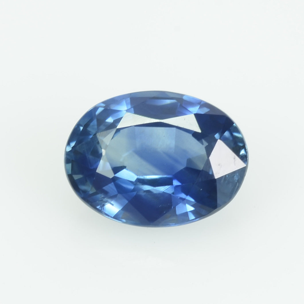 1.16 Cts Natural Blue Sapphire Loose Gemstone Oval Cut
