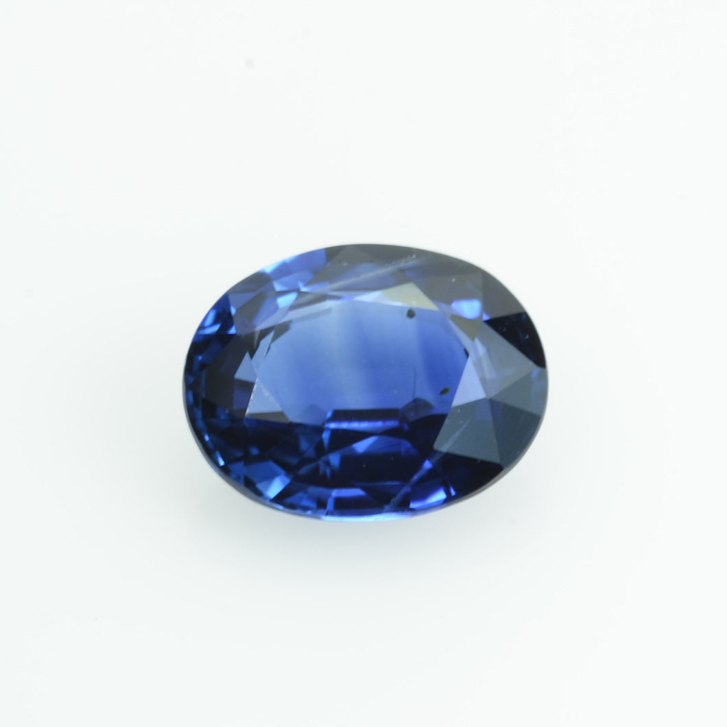 1.34 cts Natural Blue Sapphire Loose Gemstone Oval Cut