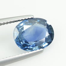 Load image into Gallery viewer, 2.94 cts Natural Blue Sapphire Loose Gemstone Oval Cut