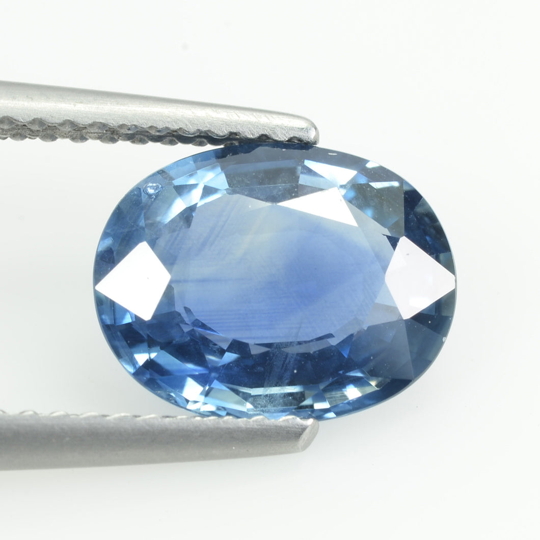 2.94 cts Natural Blue Sapphire Loose Gemstone Oval Cut