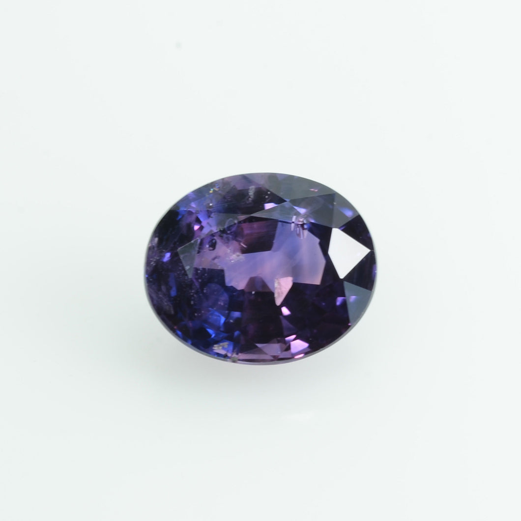 1.39 cts Natural Fancy Bi-Color Sapphire Loose Gemstone oval Cut