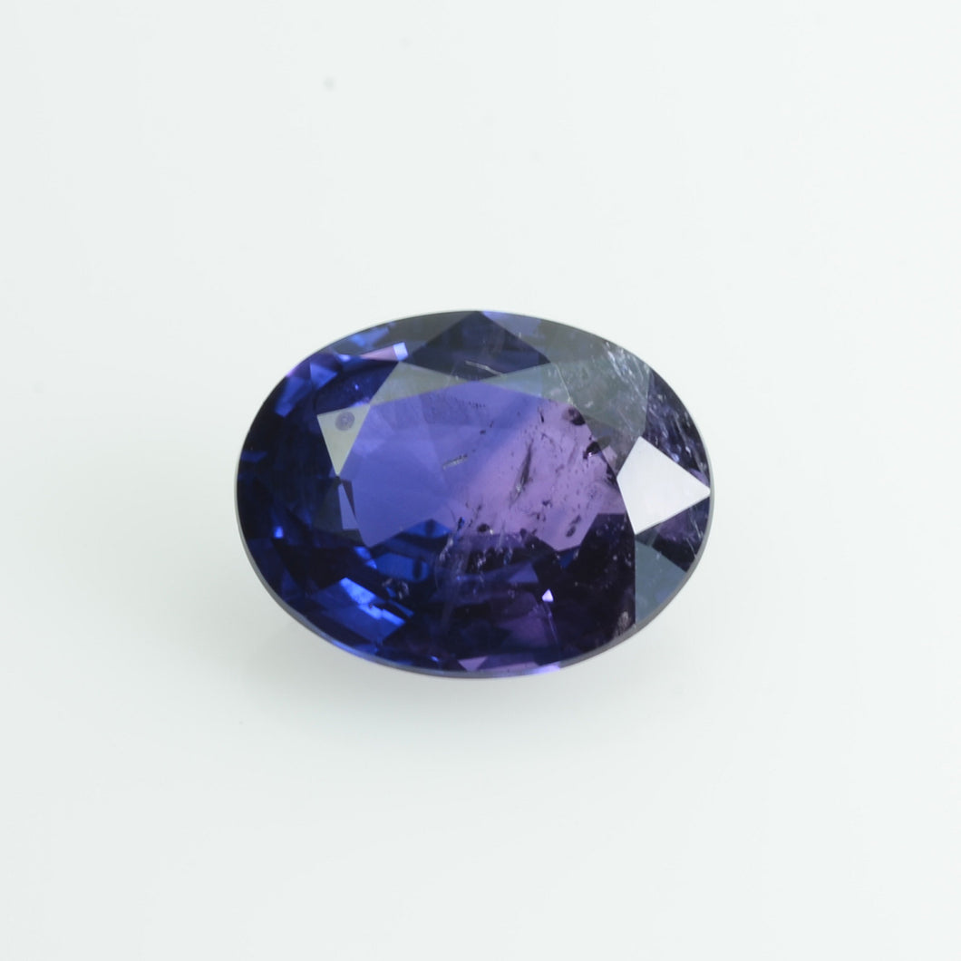 1.35 cts Natural Fancy Bi-Color Sapphire Loose Gemstone oval Cut