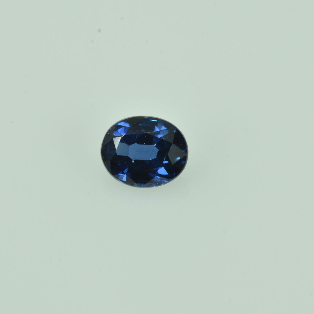 0.64 cts Natural Blue Sapphire Loose Gemstone Oval Cut
