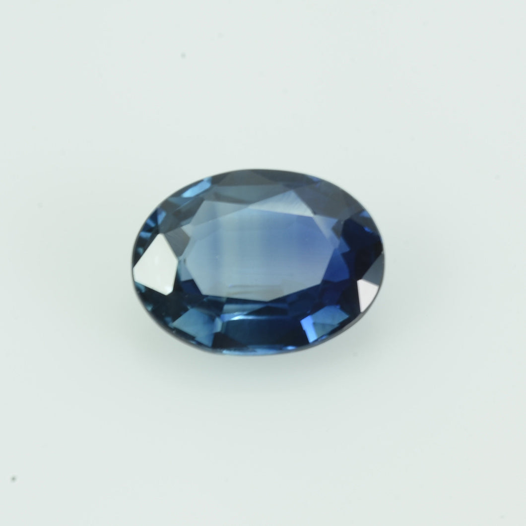 1.20 Cts Natural Blue Sapphire Loose Gemstone Oval Cut