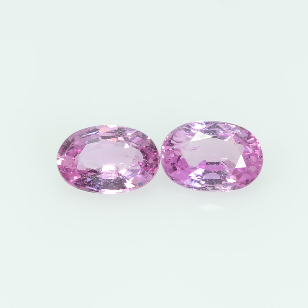 1.26 cts Natural  Pink Sapphire Loose Gemstone oval Cut