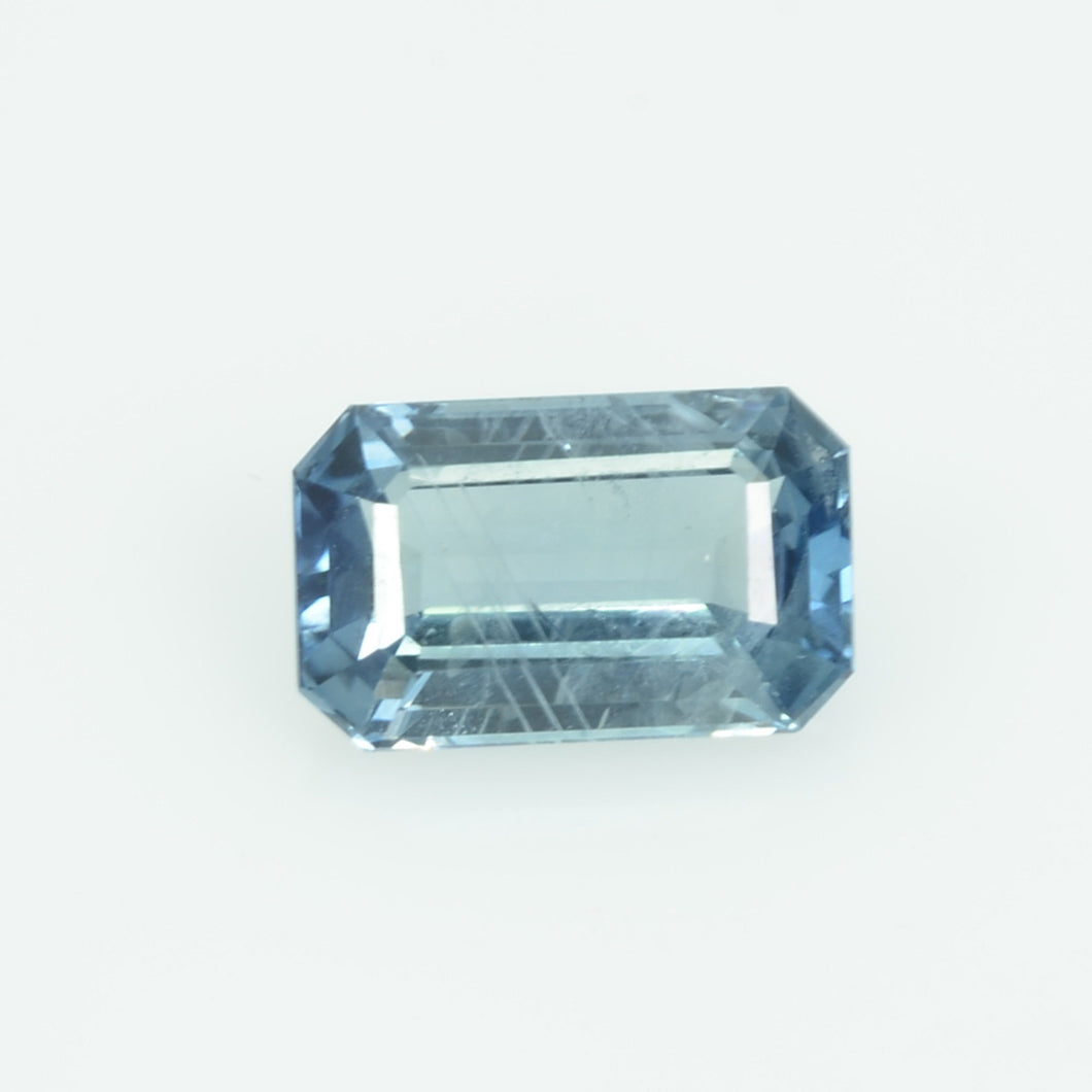 1.30 cts Natural Blue Sapphire Loose Gemstone Emerald Cut