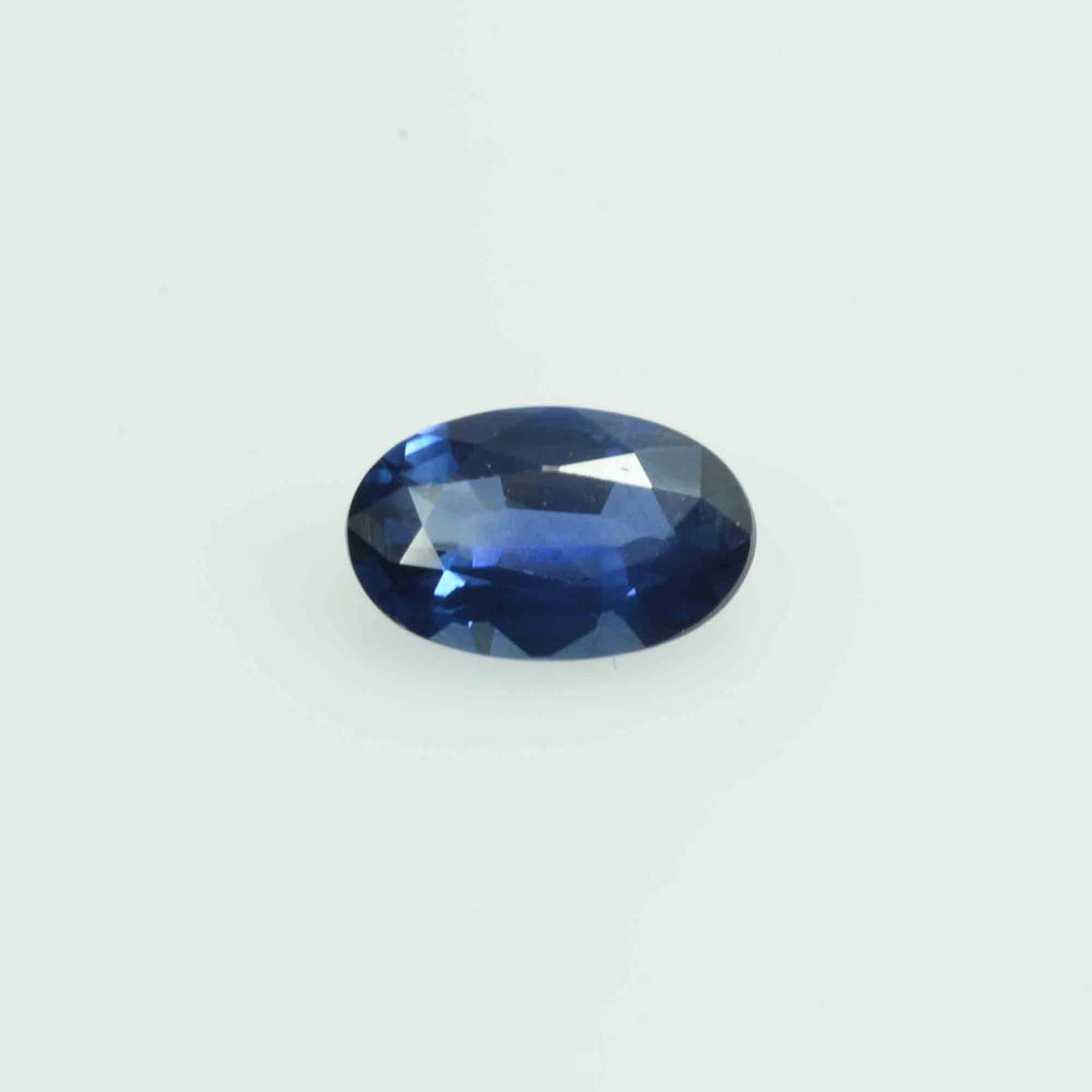 0.50 cts  Natural Blue  Sapphire Loose Gemstone Oval Cut