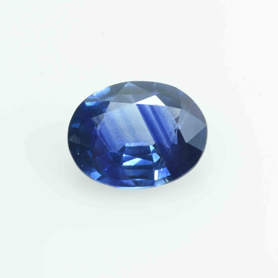 1.42 cts  Natural Blue  Sapphire Loose Gemstone Oval Cut