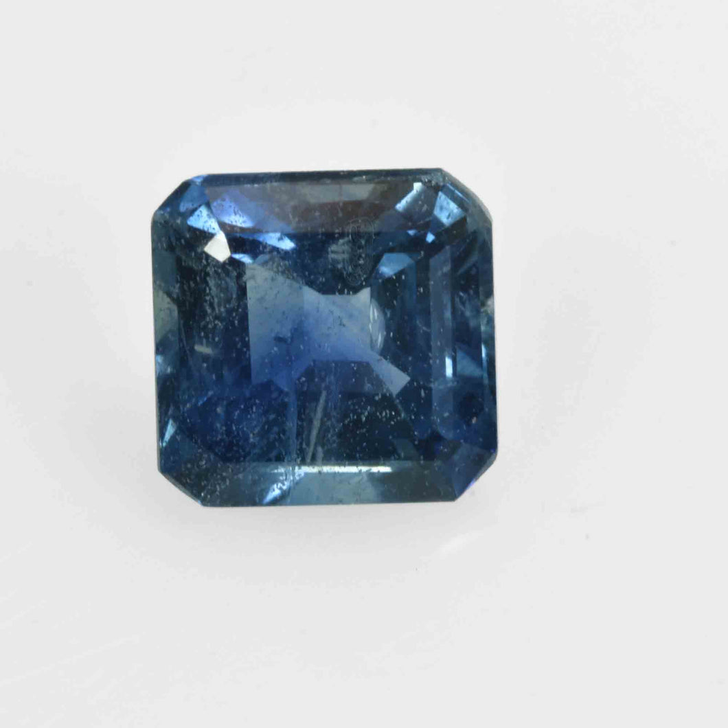0.92 Cts Natural Blue Sapphire Loose Gemstone Octagon Cut