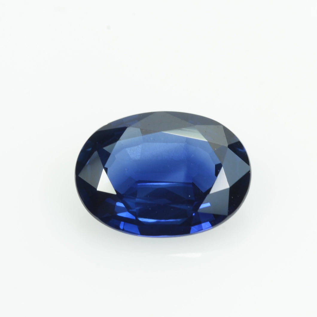 1.57 cts Natural Blue Sapphire Loose Gemstone Oval Cut